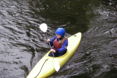 kayaker on fergus river
