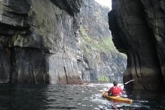sea cave kayaking